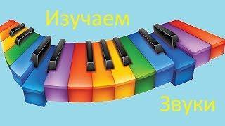 Изучаем звуки, познавательное видео для малышей!