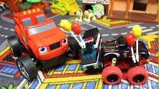 Мультики про машинки для мальчиков. Вспыш и полицейская машина.Мультфильмы и Игрушки для детей