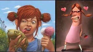 Про девочек. Смешные девочки. Карикатуры смешные картинки юмор.