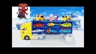 뽀롱뽀롱 뽀로로 캐리어카 장난감 뽀로로 자동차 타요 미니카 캐리어 Pororo carrier Car & Tayo Toys ТАЙО игрушка CarrieAnd New 2018
