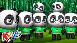 детские песни | 10 маленьких зверят + Еще! | KiiYii | мультфильмы для детей