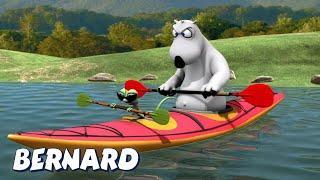 Бернард Медведь   Каноэ И БОЛЬШЕ   Мультфильмы для дете