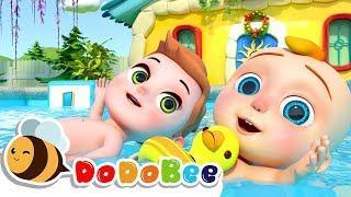 плавательный бассейн - мультфильмы для детей #CoCoMelon #LittleAngel #Babyshark #nursery rhymes