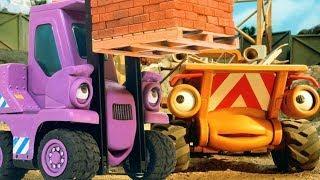 Мультики про машинки на Стройке. Серия: Кто тут главный? Добрые мультфильмы для детей