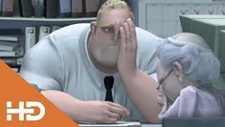 Мистер Исключительный на Работе  ► Суперсемейка (2004) Лучшие Мультфильмы Для Детей
