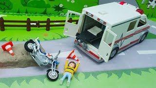 Мультики с игрушками Плеймобил - Годы тренировок! Развивающие мультфильмы