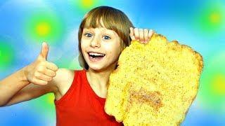 ПОЛЕЗНЫЕ ЧИПСЫ DIY Огромные Чипсы Видео для Детей Обнимашки с Машей