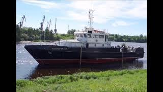 На ЗНТ прошёл спуск на воду БГК  Александр Евланов