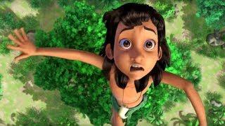 Маугли - Книга Джунглей -  Стать невидимкой –развивающий мультфильм для детей HD
