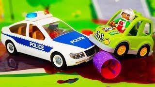 Мультики про машинки. Полицейские машинки и ЛЕГО герои спешат на помощь. Мультфильмы для детей