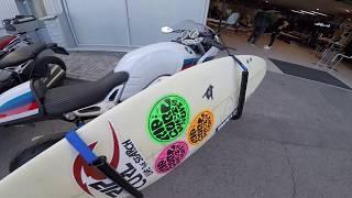 Surf Racks: Как сделать крепление доски для серфинга на мотоцикл для перевозки из дома на пляж