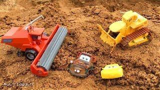 Мультики про Машинки Тачки Молния Маквин Мультфильмы с Игрушками для Детей