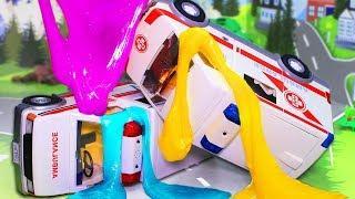 Видео про машинки! Все серии – Игрушки Плеймобил мультфильмы для детей
