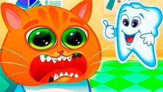 Мультик про Котика Bubbu #14 Играем в котенка Бубу! Мультфильмы для детей - виртуальный питомец