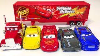 Мультики про Машинки Игрушки Тачки 3 Молния Маккуин Джексон Шторм Мак Мультфильмы для Детей