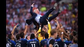Сборная Франции  стала чемпионом  мира по футболу  Россия Футбол 2018 ...