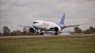 Второй опытный самолет МС 21 300 перелетел для продолжения испытаний в Жуковский