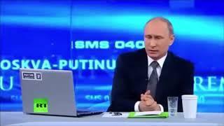 Путин и народ. Черный юмор?