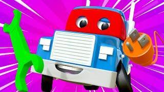 Супер ремонтник - Трансформер Карл в Автомобильный Город