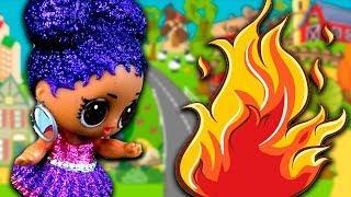 Мультики для детей – ПОЖАР В ЛЕСУ! Мультфильмы с игрушками КУКЛЫ ЛОЛ для девочек