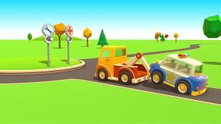 Мультфильмы про машинки  Машины Помощники Развивающий мультик 1