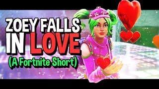 Zoey Falls In Love   Fortnite Short Film