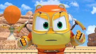 Роботы-Поезда (Нет, опять ты, Кевин! и Детектив Джинни) 2 сезон | Мультфильмы для детей