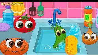 Развивающие мультики от 0+, для детей, мультфильмы про овощи