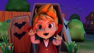 Хэллоуин ночь | страшные мультфильмы | Its Halloween Night | Kids Tv Russia Halloween Song