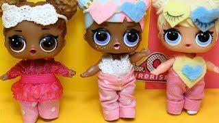 Куклы лол. Как сделать одежду для кукол lol surpise своими руками. ОБУВЬ, ПИЖАМЫ, ПЛАТЬЯ, ХАЛАТЫ.