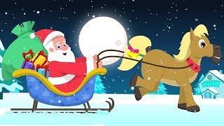 звяканье колокольчики | русский мультфильмы для детей | Jingle Bells | Umi Uzi Russia