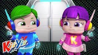 детские песни | 10 Зеленых Бутылок + Еще! | KiiYii | мультфильмы для детей