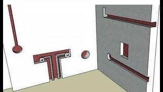 Как сделать штробы под электропроводку