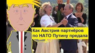 Как Австрия партнёров по НАТО Путину предала. Zapolskiy мультфильмы