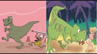 Про динозавров. Смешные динозавры. Карикатуры смешные картинки юмор приколы.