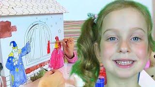 Домик для Принцессы своими руками Как сделать? Видео для детей